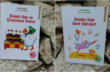 Bayan Kaz ve Çikolatalı Pasta / Bayan Kaz Bale Yapıyor